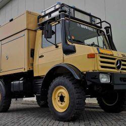 El módulo pesa unos 1.600 kilos, en buena medida gracias a su bastidor de aluminio.