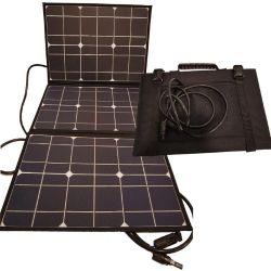 Este modelo ofrece una potencia máxima de operación 52 W y una carga de 2,9 A por hora de sol.