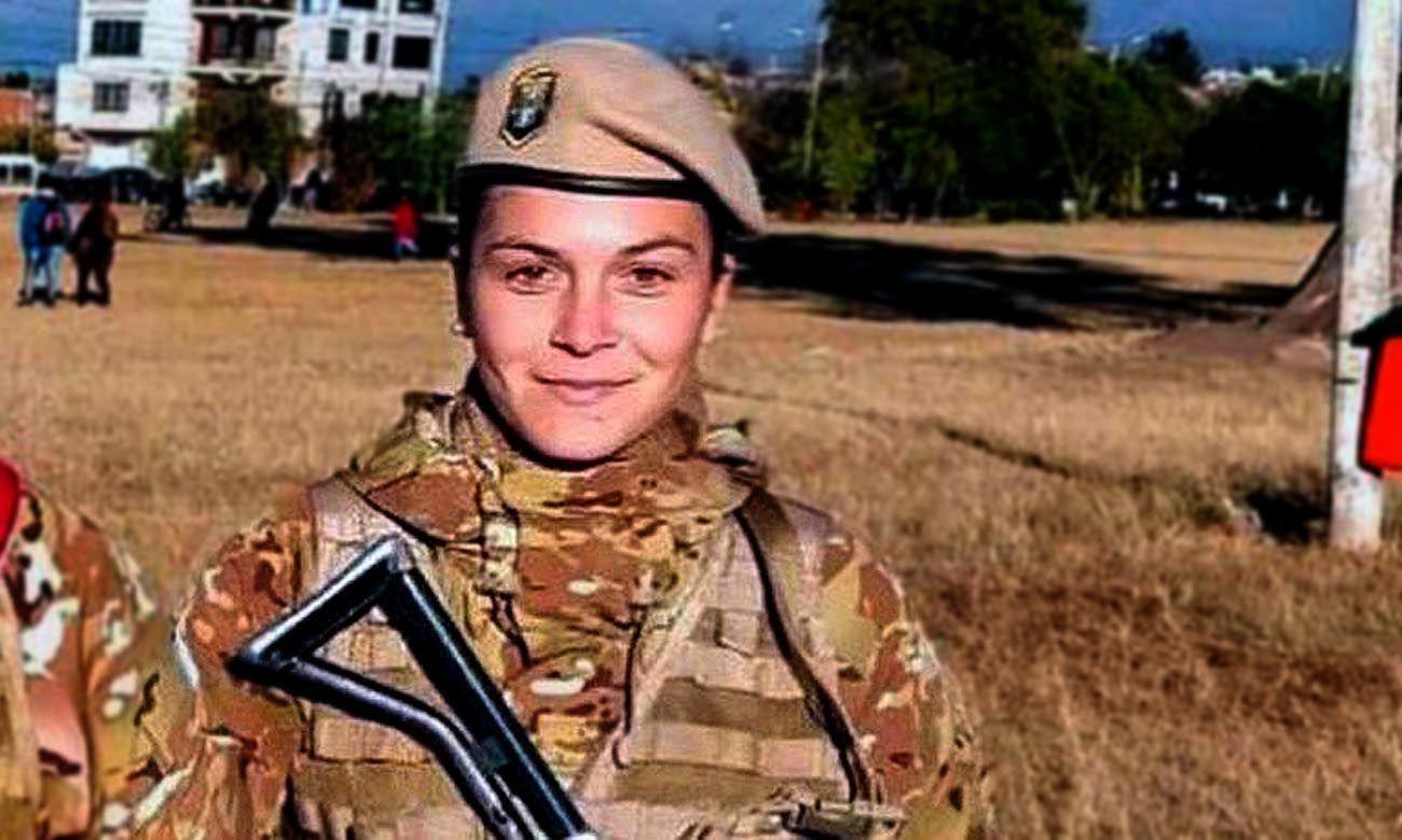 Soldado de Primera Lucia Herrera