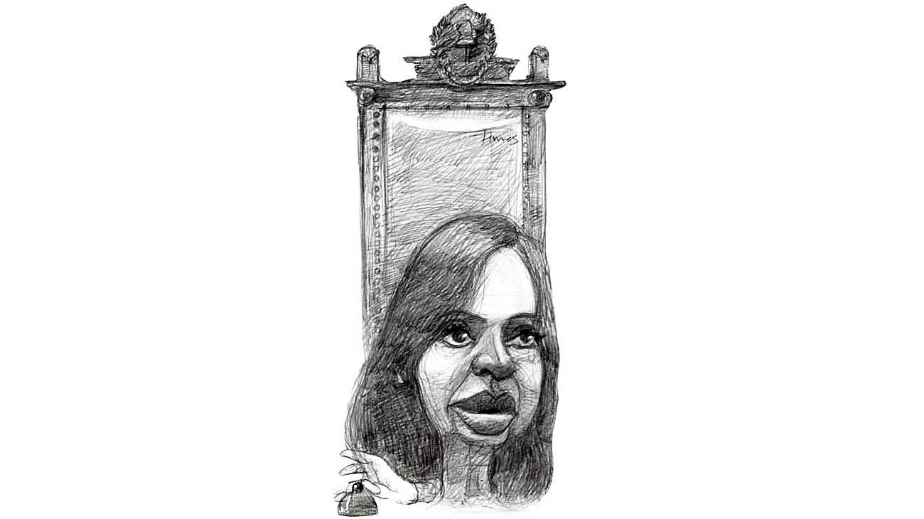 Presencia, Cristina Fernández.