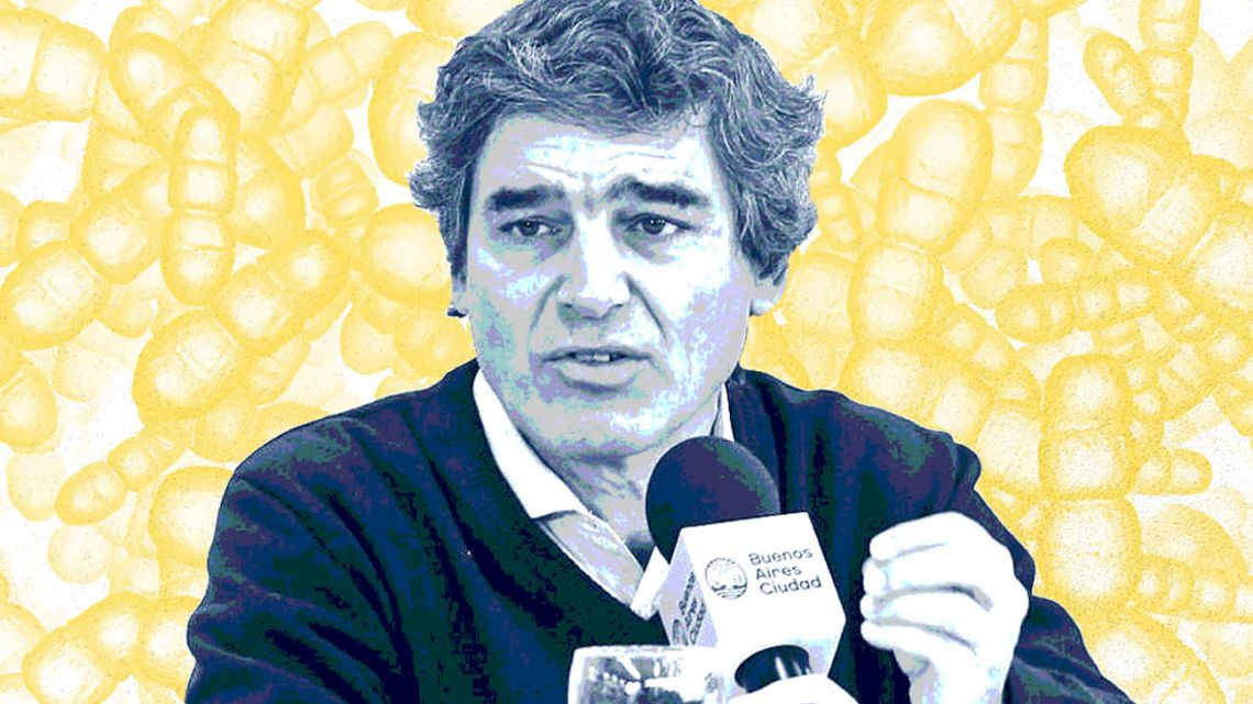 Fernán Quirós, Health Minister of the City of Buenos Aires.