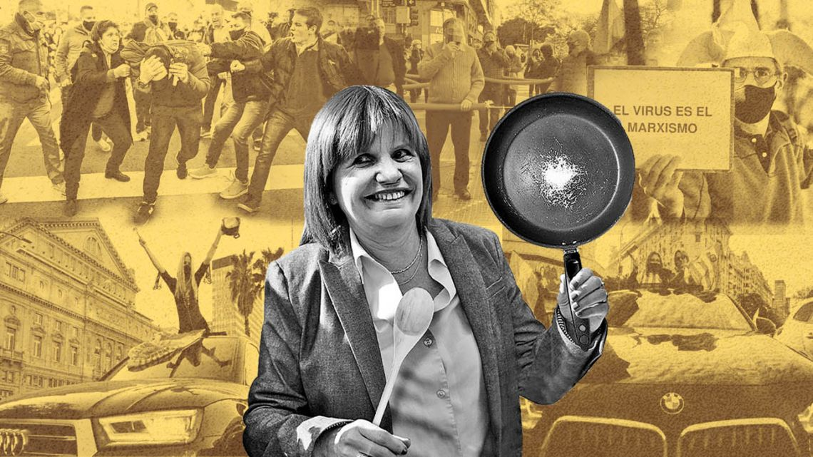 Patricia Bullrich, former Security Minister.
