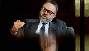 Matías Kulfas, en la entrevista con Jorge Fontevecchia.