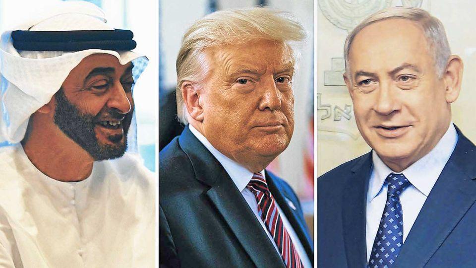 20200822_ben_zayed_trump_netanyahu_cedoc_g