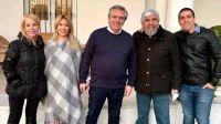 La imagen de Alberto Fernández, Fabiola y Moyano que generó polémica