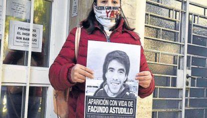 Cristina Astudillo recuerda a su hijo Facundo en el día de su cumpleaños.