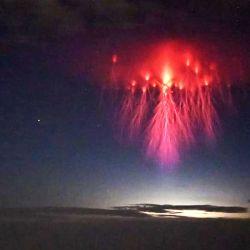 Una de las últimas imágenes de un sprite fue captada por Stephen Hummel, fotógrafo y especialista en cielos oscuros del Observatorio McDonald.