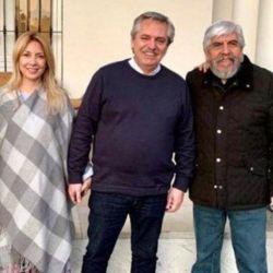 Reunión social y sin barbijos: por qué Alberto F y Moyano se creen inmunes | Foto:Twitter