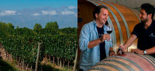 Después de haber pasado por DELIRIO, los vinos de Familia Mastrantonio se presentaron a la prensa especializada