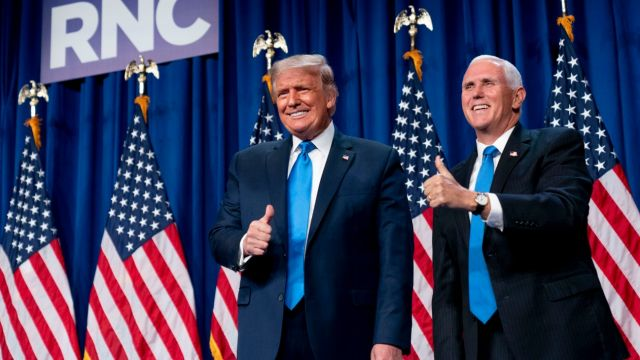 DonaldTrump mike pence estados unidos g_20200824