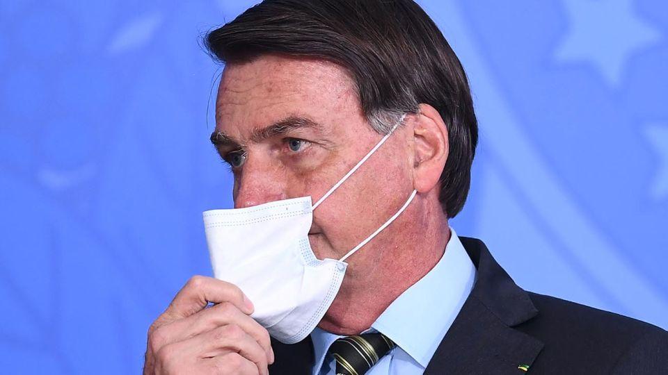 """Bolsonaro en el acto """"Venciendo a la Covid-19"""" 20200824"""