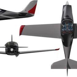 El IA-100 Malvina fue desarrollado entre 2014 y 2015 como un avión de entrenamiento biplaza.