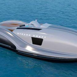 El diseño actualizado de la Strand Craft nos presenta una moto de agua muy refinada.