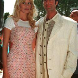 Estilo Twiggy y junto a David Copperfield, con quien formó una de las parejas más miradas del planeta.