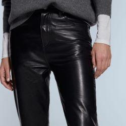 La línea sostenible de Zara incluye prendas en cuero