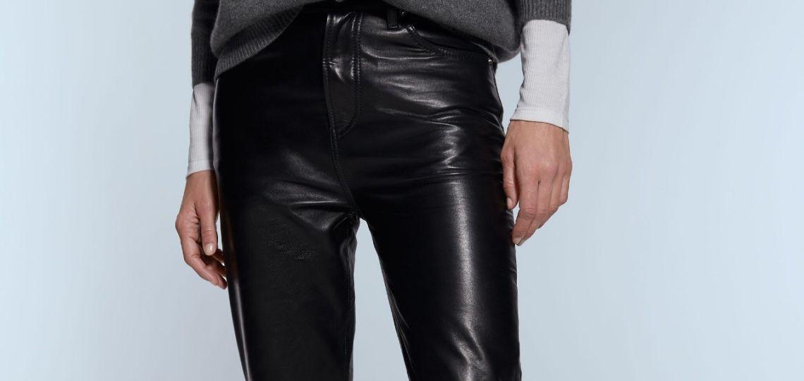 Zara: estas son las seis prendas de cuero de su línea sustentable