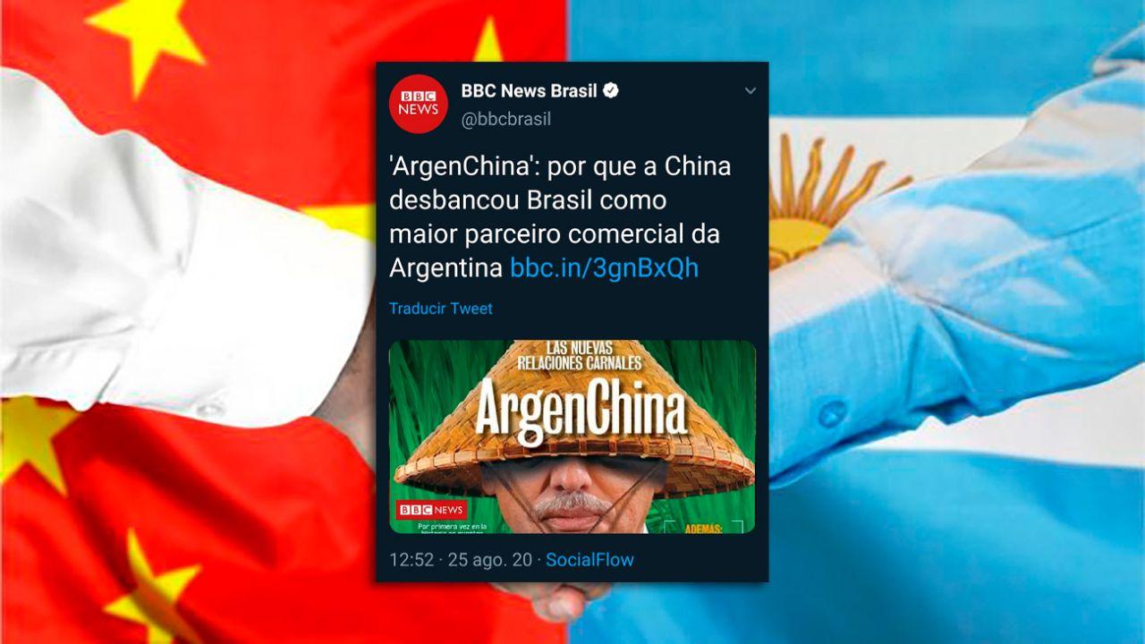 """ArgenChina"" en la BBC | Foto:cedoc"