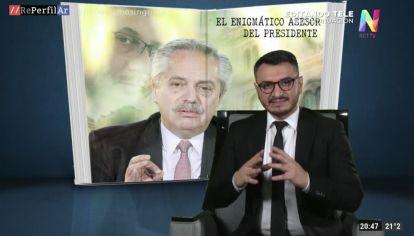 """""""El gordo Olmos"""", el asesor del Alberto"""