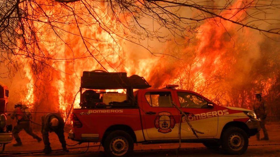 Incendios en Córdoba.