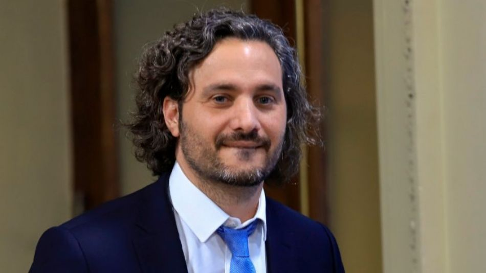 Jefe de Gabinete Santiago Cafiero.