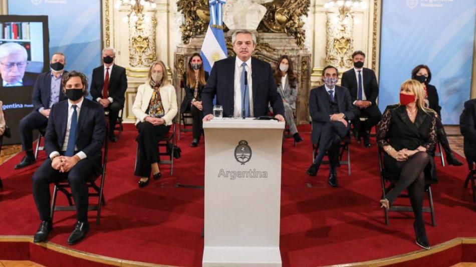 Presentación de la reforma judicial.