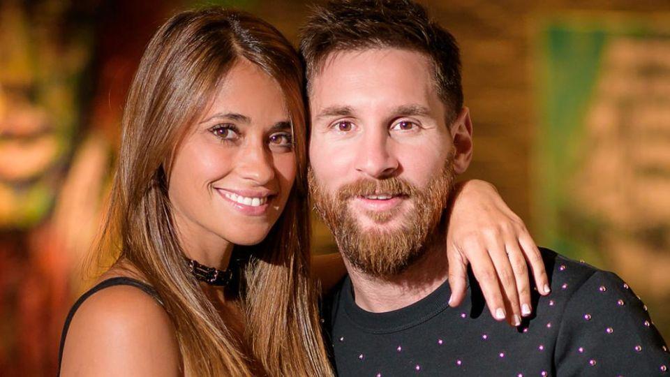 Messi y Antonela Roccuzzo