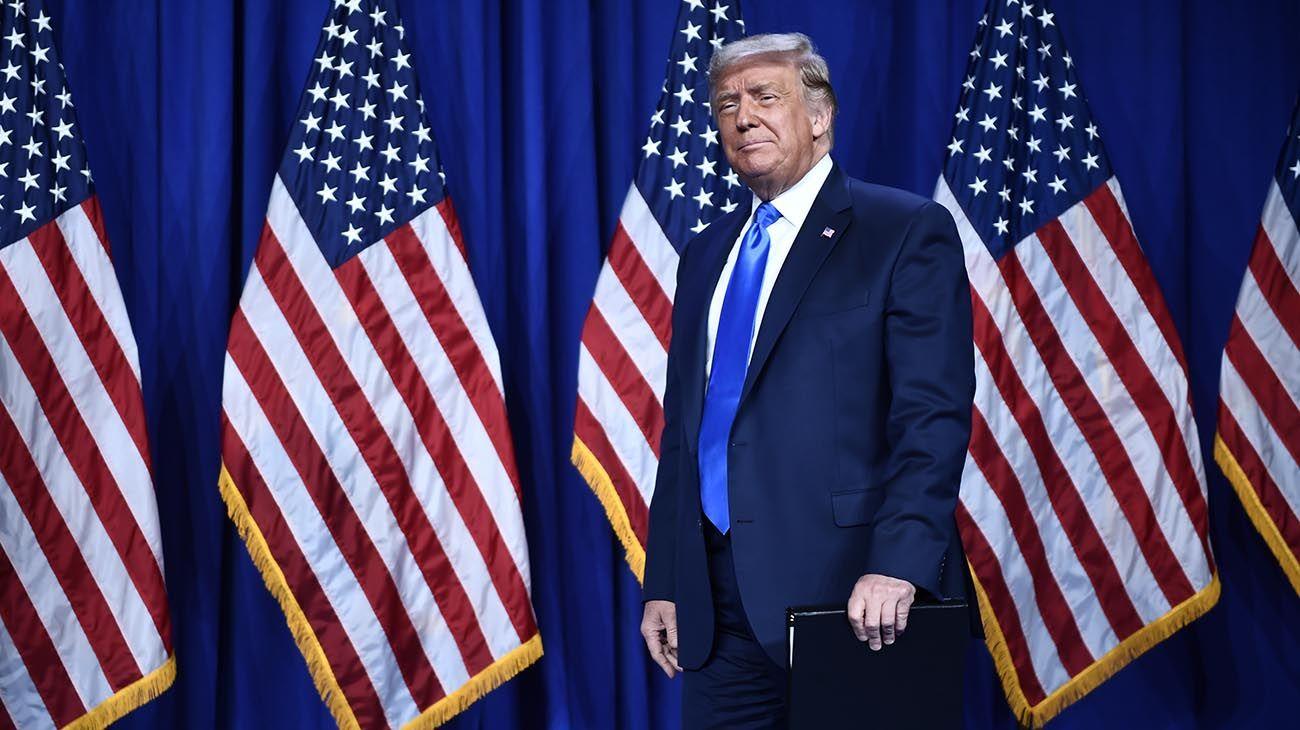 Trump buscará el 3 de noviembre la reelección.