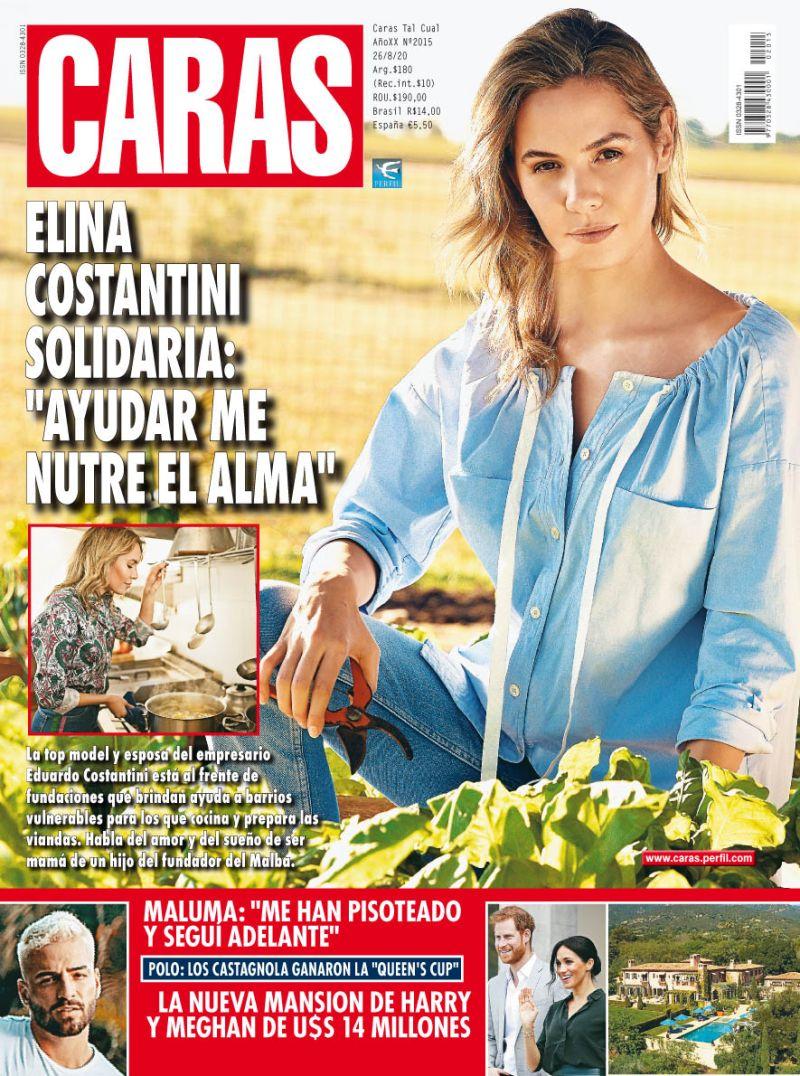 """Elina Costantini solidaria: """"Ayudar me nutre el alma"""""""