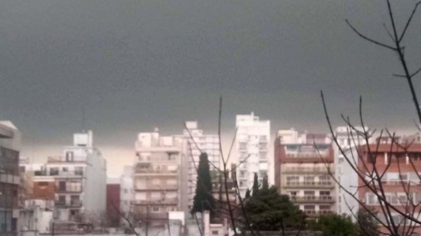 Hay alerta meteorológica por tormentas fuertes en la Ciudad de Buenos Aires