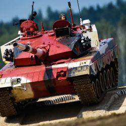 El biatlón de tanques forma como parte de los Juegos Militares Internacionales Army Games 2020.