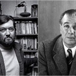 Borges y Cortázar | Foto:Cedoc.