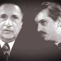 Eduardo Duhalde y Alberto Fernández, en tiempos (no tan) lejanos.