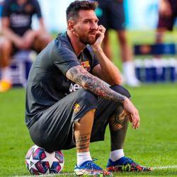 Messi manifestó ayer su voluntad de no seguir en el club.  | Foto:CEDOC