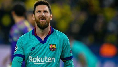 Lionel Messi se va del Barcelona.