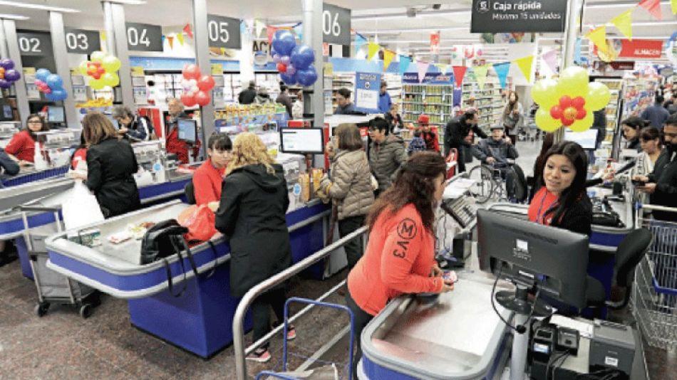Los supermercados ganaron al comienzo de la pandemia