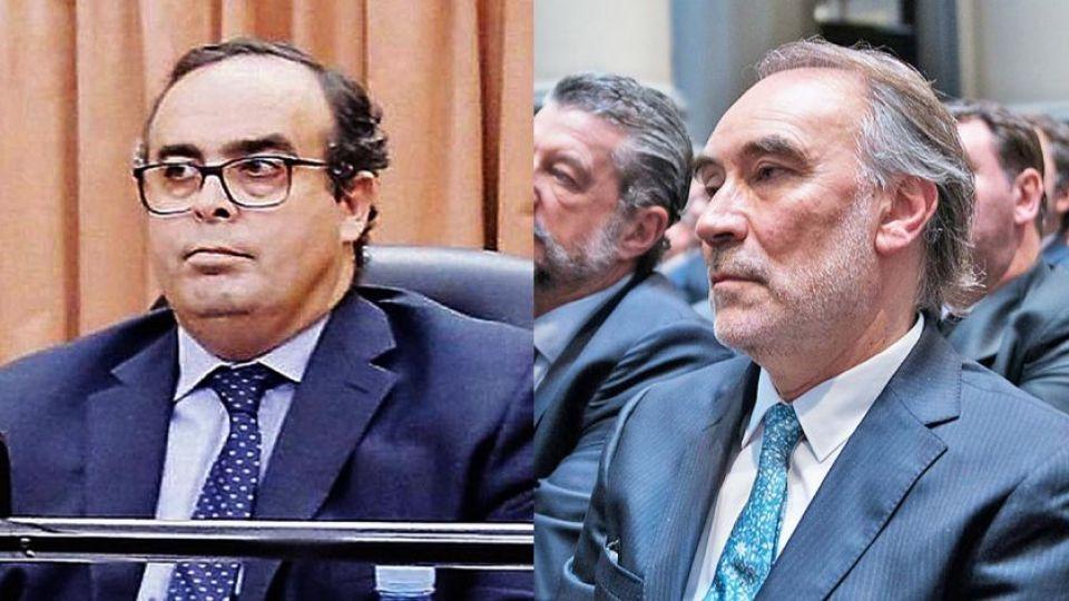 Pablo Bertuzzi y Leopoldo Bruglia