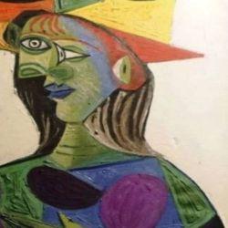 Busto de mujer. Picasso   Foto:Europa Press-Tate Modern Gallery