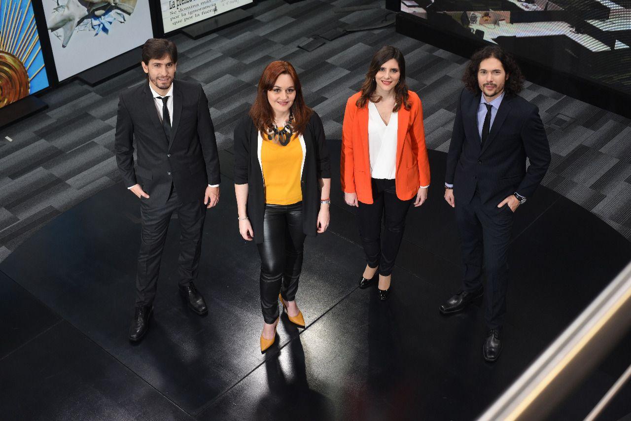 Jairo Straccia, Úrsula Ures Poreda, Florencia Ballarino y Agustino Fontevecchia.
