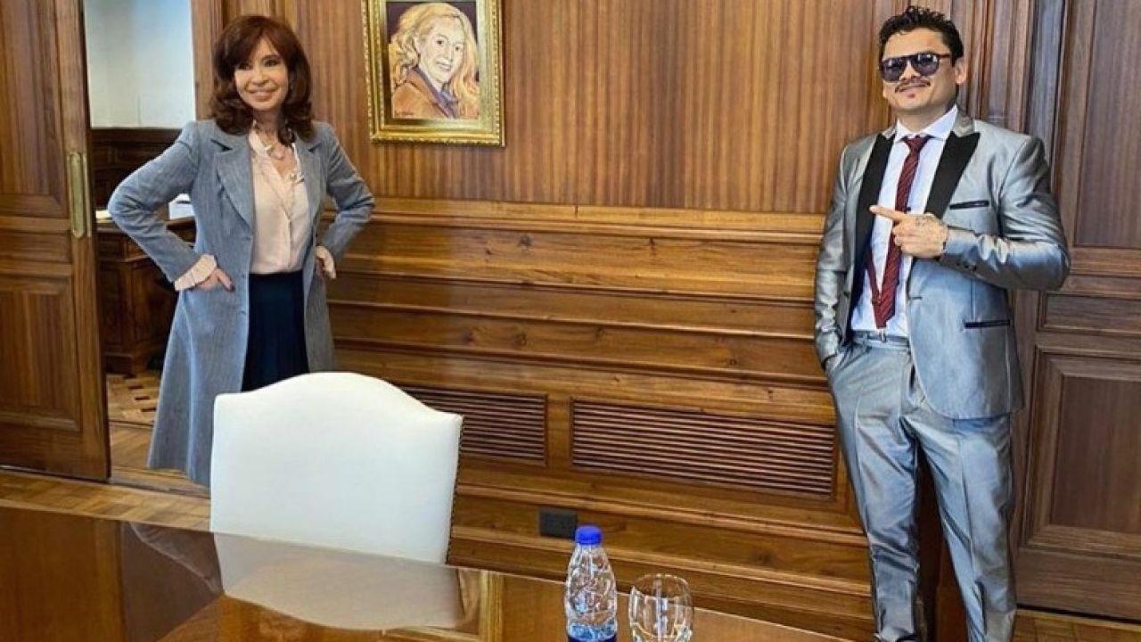 Cristina Kirchner y el Chino Maidana | Foto:Cristina Kirchner y el Chino Maidana