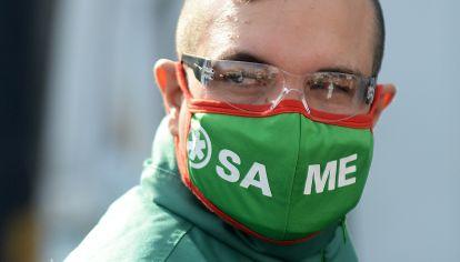 La primera linea en la lucha contra la pandemia de Covid-19, en la Argentina