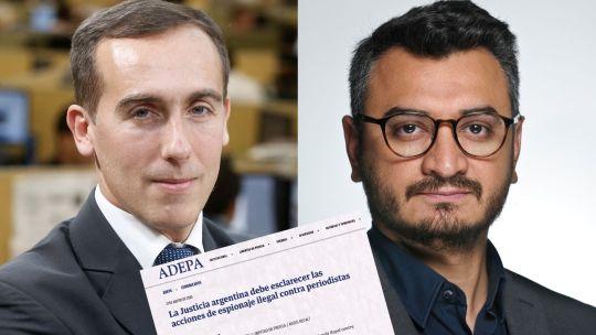 Alerta por el espionaje a periodistas