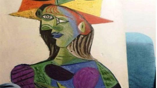 Busto de mujer. Picasso