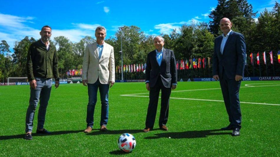 Macri FIFA Zurcih