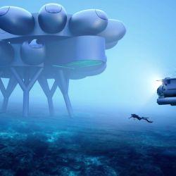 Esta base submarina de última generación ha sido concebida por Fabien Cousteau para estudiar la biología marina.