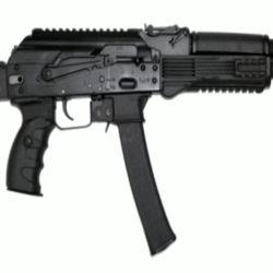 La nueva arma de Kalashnikov utiliza cartuchos de 9x19 mm y un cargador de 30 tiros.