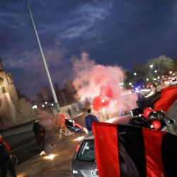 Newell's Old Boys fans hope to lure Lionel Messi home to Rosario and staged a caravan on Thursday to promote the idea.