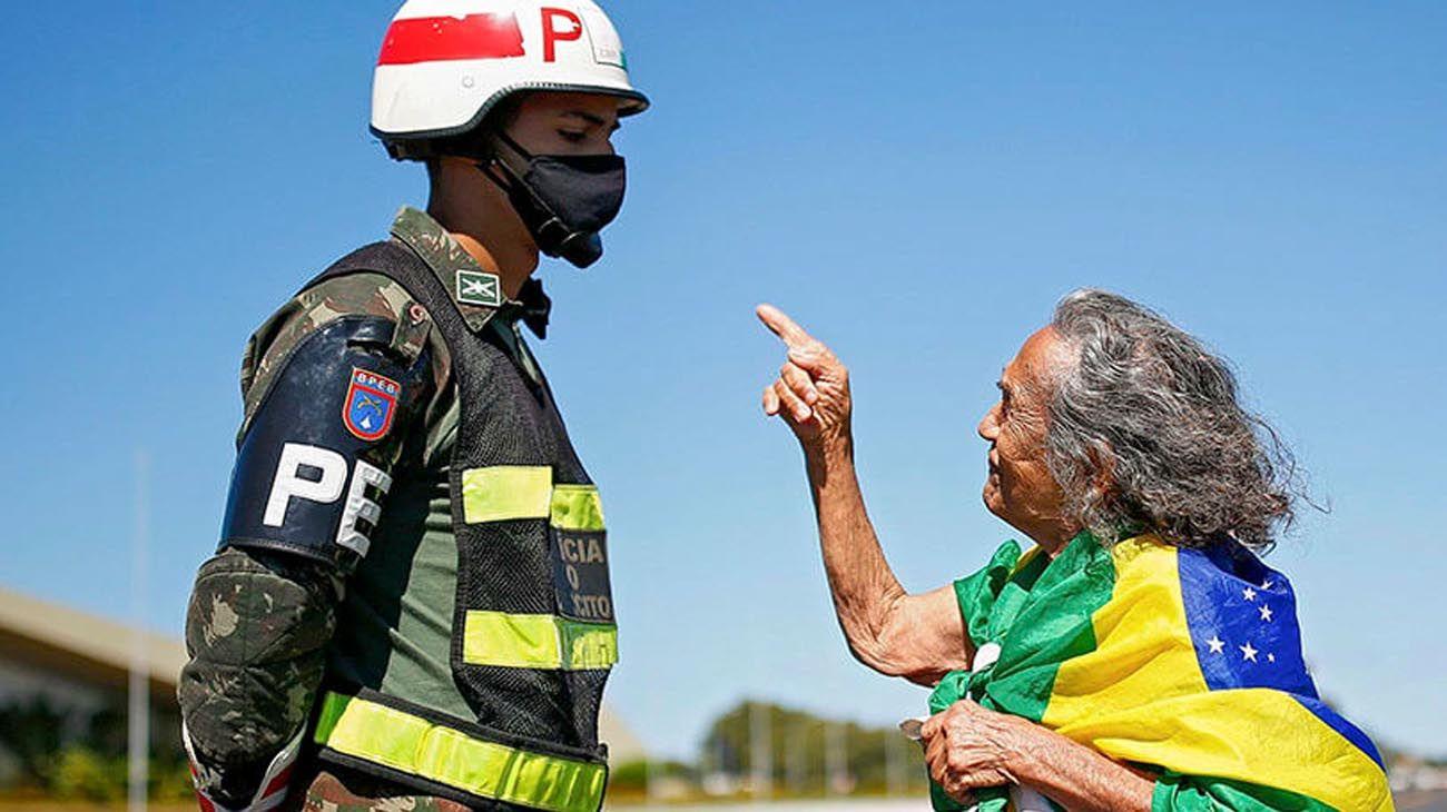 Democracia brasileña.