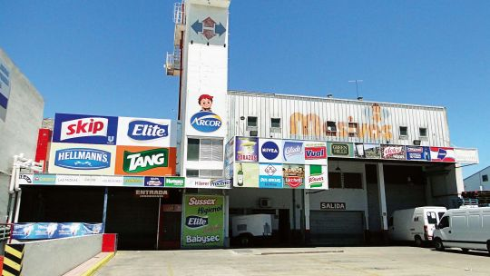 Supermercado mayorista Masivos