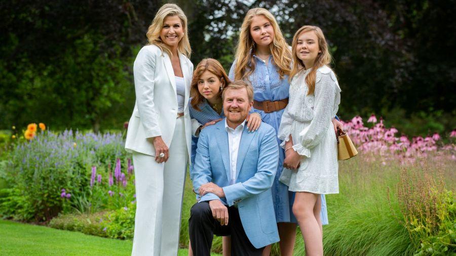 La vestimenta de las princesas de Holanda para la foto real