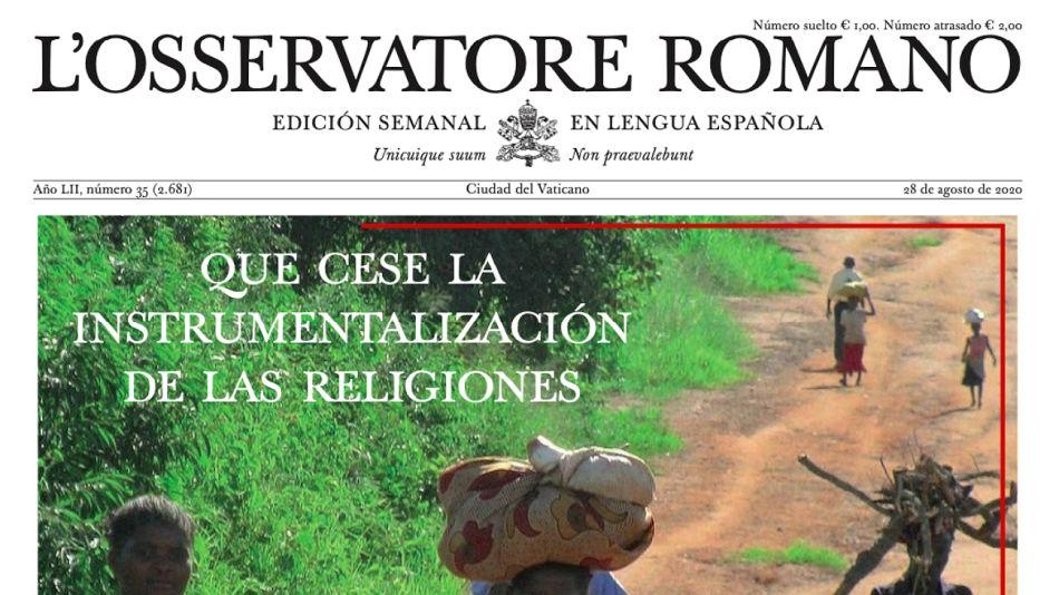 Osservatore Romano de esta semana.